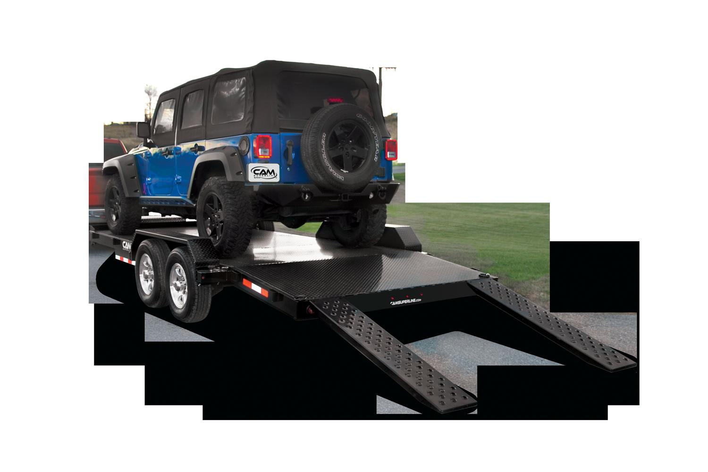 2021 Cam Superline 5 Ton Car Hauler Trailer 18FT Steel Deck