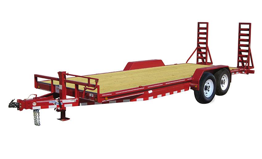 """2016 Load Trail 80"""" X 18' Tandem Axle Carhauler 2-8000 lb"""