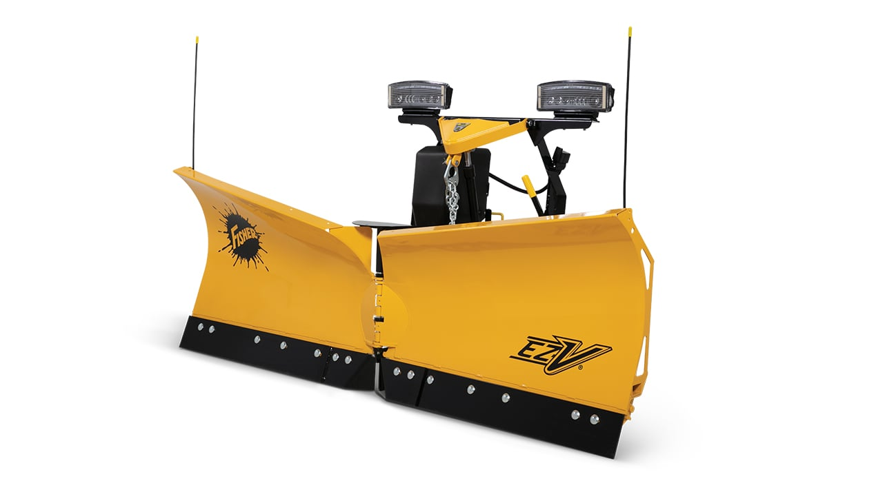 """Fisher Engineering 7' 6"""" PC V-Plow"""