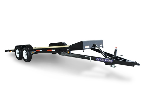 2019 Sure-Trac 7 x 20 Tilt Bed Car Hauler  10k