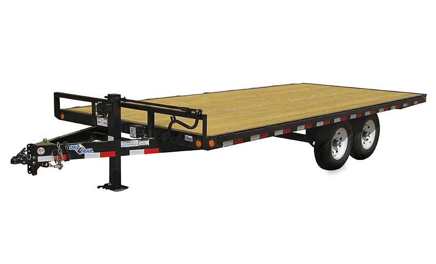 "2019 Load Trail 102"" X 18' Deck Over Pintle Hook Equipment Trailer"