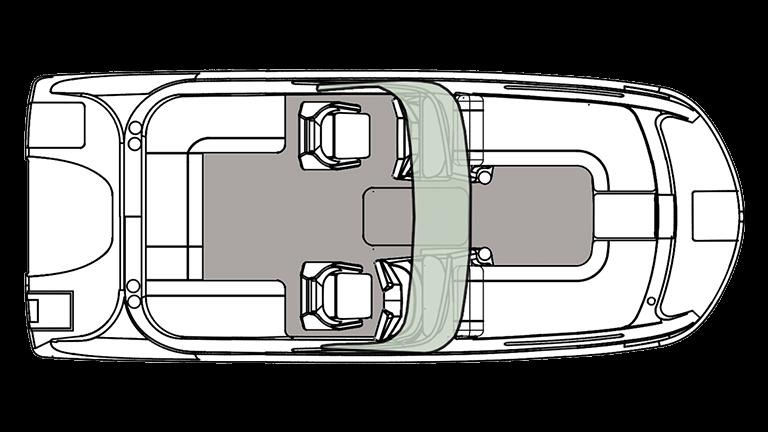 Hurricane Boats SunDeck 217 OB