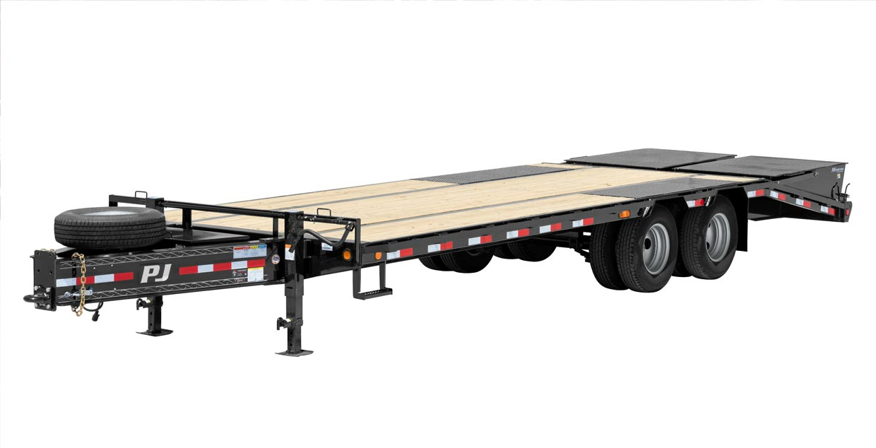 PJ Trailers Low-Pro Pintle with Duals (PL)
