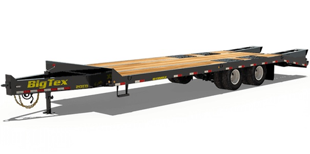 Big Tex Trailers 20ED-20+5