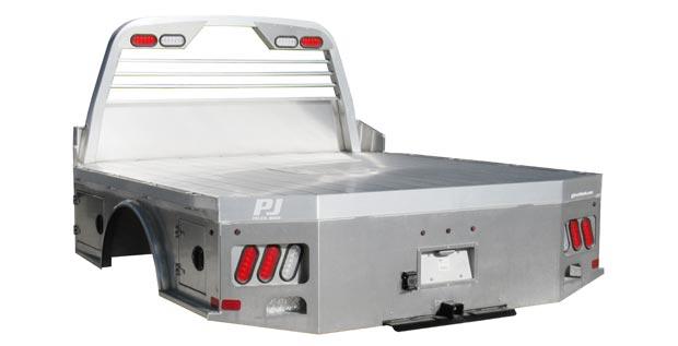 PJ Trailers Standard Skirt Aluminum Truck Bed (ALGS)