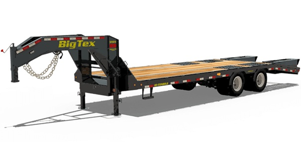 Big Tex Trailers 3XGN-20+5