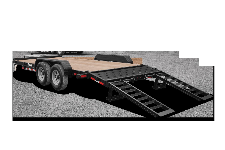 Cam Superline P5EC162C (5 Ton Equipment Hauler Beavertail Trailer 8.5 x 16+2)