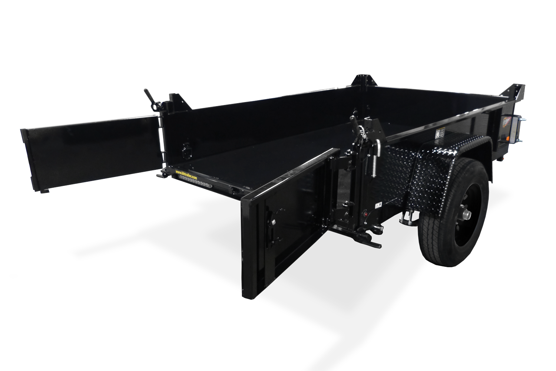 2020 H and H Trailer 4.5 X 8FT HOMEOWNER DUMP TRAILER