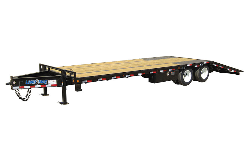 "2019 Load Trail 102"" X 32' Tandem Low-pro Pintle Hook Equipment Trailer"