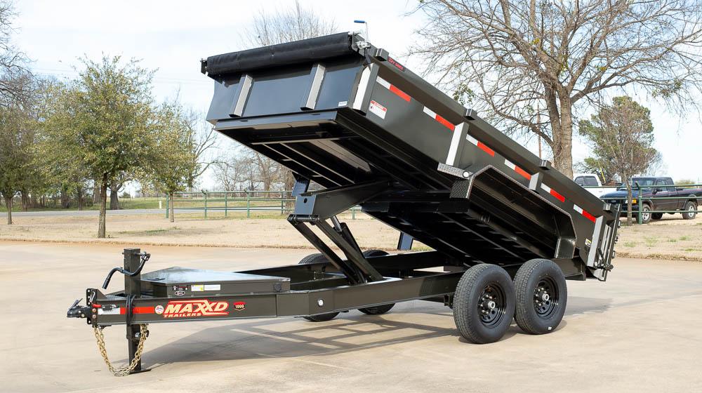 "MAXXD DJX - 83"" I-Beam Dump Trailer"