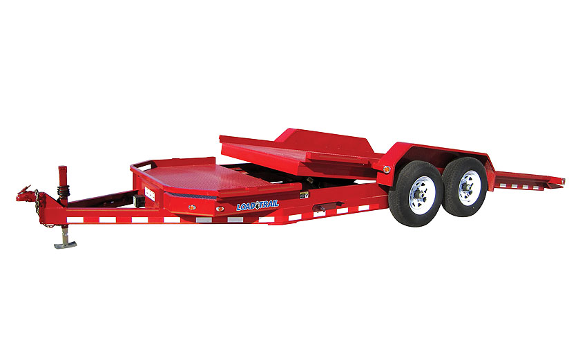 "2016 Load Trail 83"" X 20' Tandem Axle Low-Pro Tilt Deck"