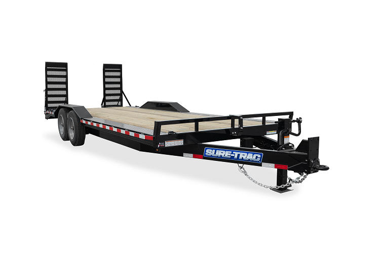 2021 Sure-Trac 8.5 x 18 (16+2) Full-Width Equipment Tra