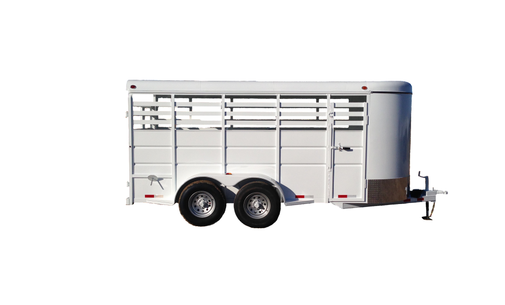 Delco Trailers Bumper Pull Livestock
