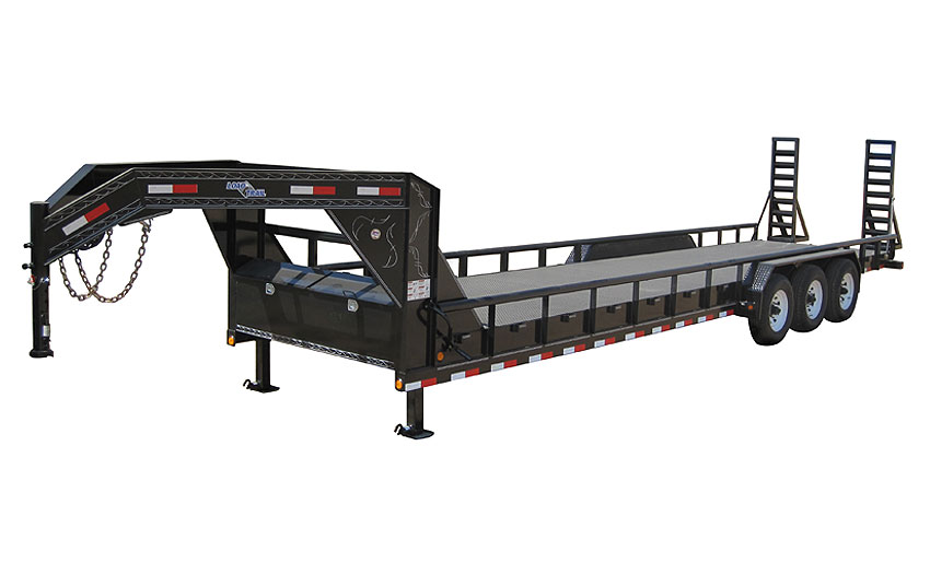 "2018 Load Trail 102"" X 40' Triple Gooseneck Carhauler Car / Racing Trailer"