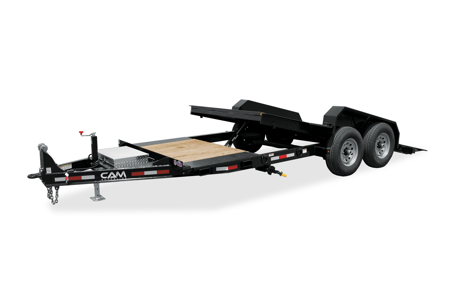 2021 Cam Superline 8 Ton Tilt Trailer Split Deck XW 8.5 x 1