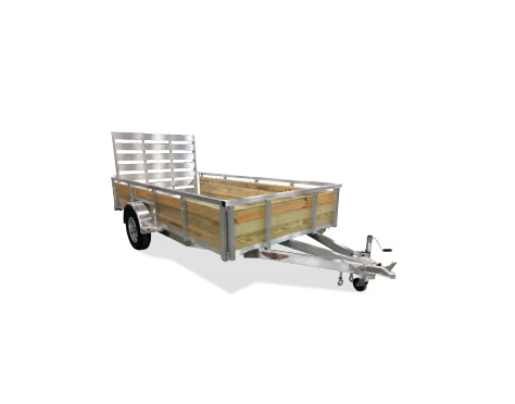 2021 H and H Trailer 5.5 X 10 WOOD-SIDE ALUM 3K