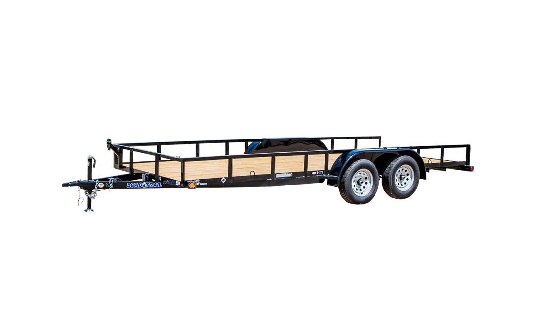 "2021 Load Trail   77"" x 16' Tandem Axle Utility (2"" x 3"" Angle Frame)"