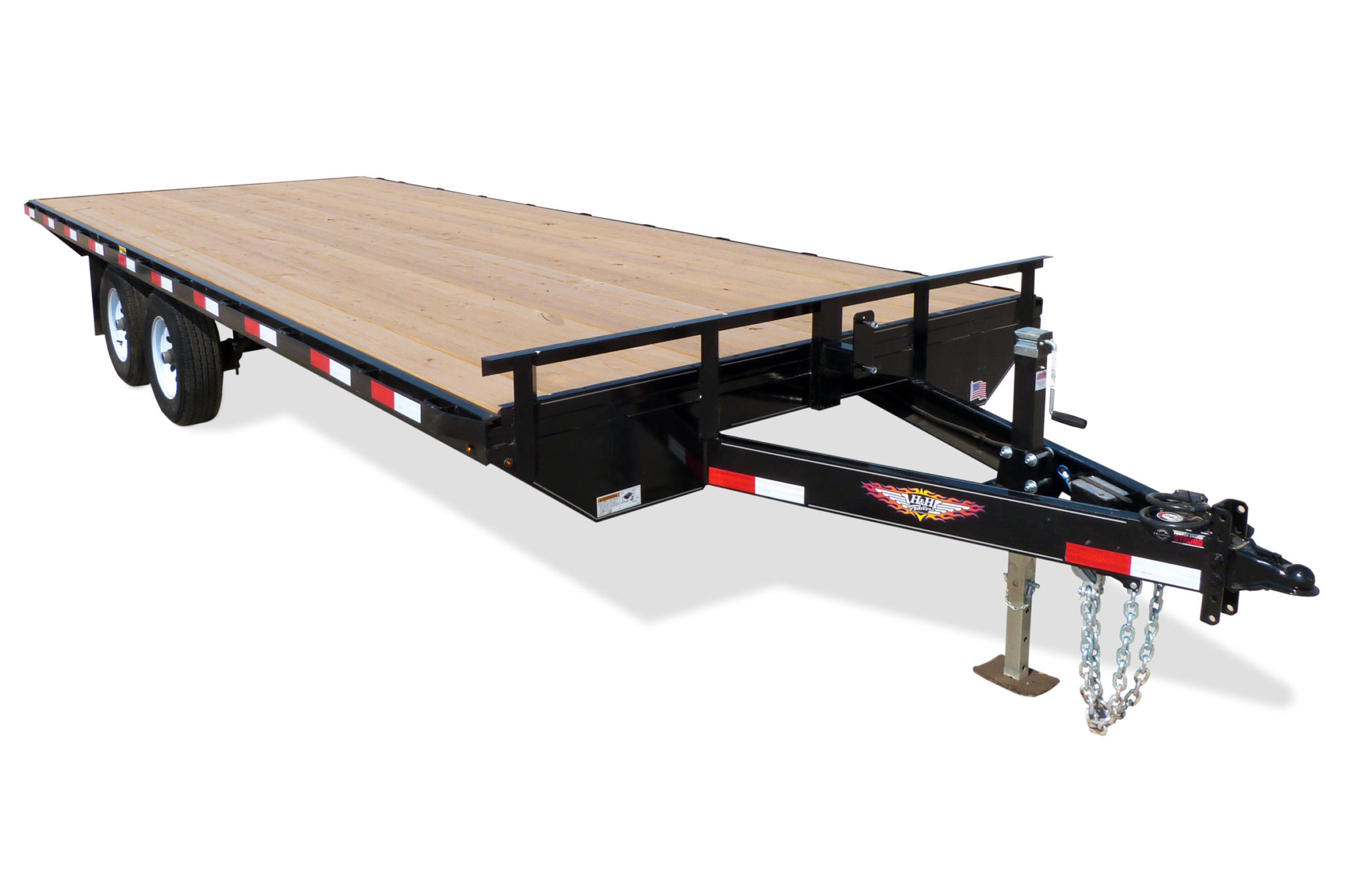 2020 H and H Trailer 102X20 14K STANDARD DUTY DECKOVER