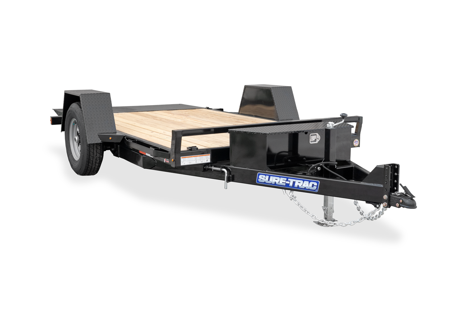 2021 Sure-Trac 78 IN x 12 Single Axle Tilt Bed Equipmen
