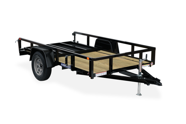 2021 Sure-Trac 7 x 14 Tube Top Utility Trailer 2024001