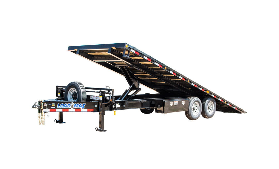 "102"" X 26' TANDEM PINTLE HOOK EQUIPMENT TILT DECK"