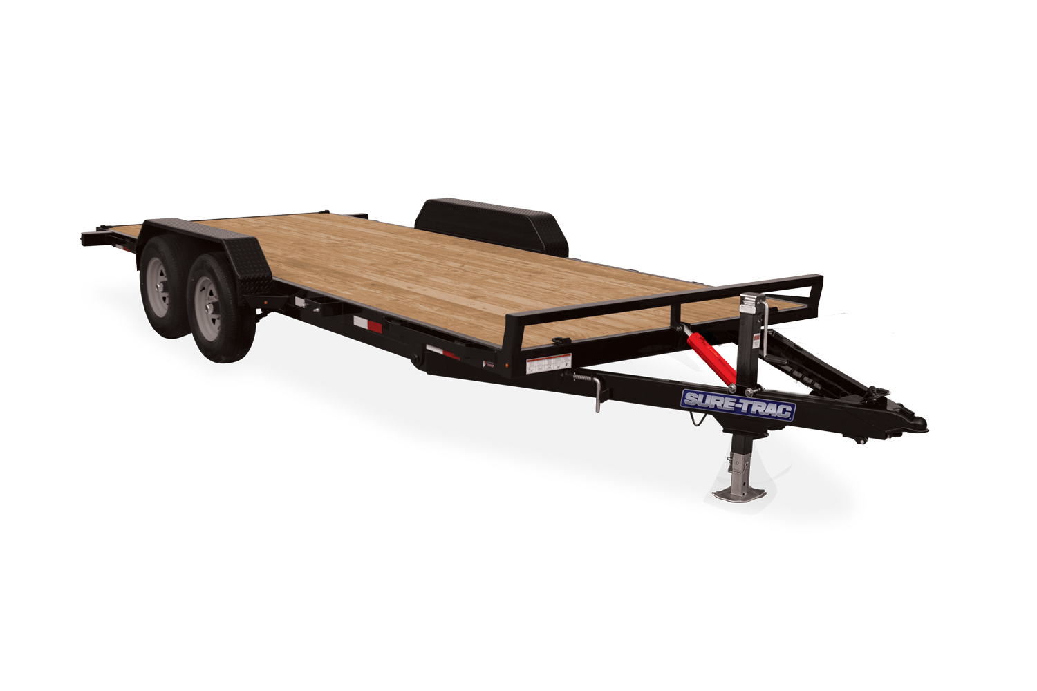 2021 Sure-Trac 7 x 20 Tilt Bed Car Hauler 7k