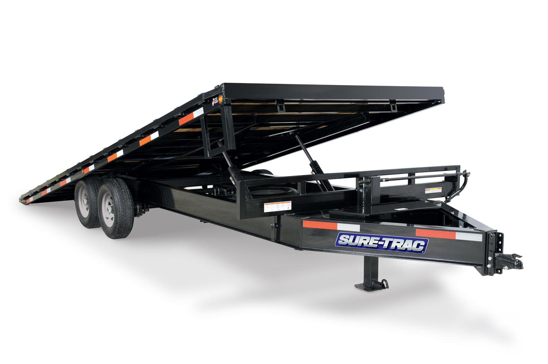 2020 Sure-Trac 102x22+4 Deckover Tilt Tandem BP 15K