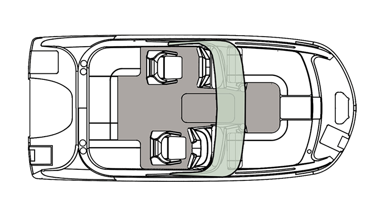 Hurricane Boats SunDeck 191 OB