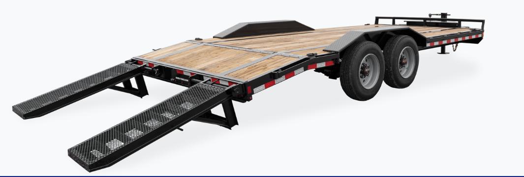 2021 Sure-Trac 8.5 x 20 (17+3) Full-Width Equipment Tra
