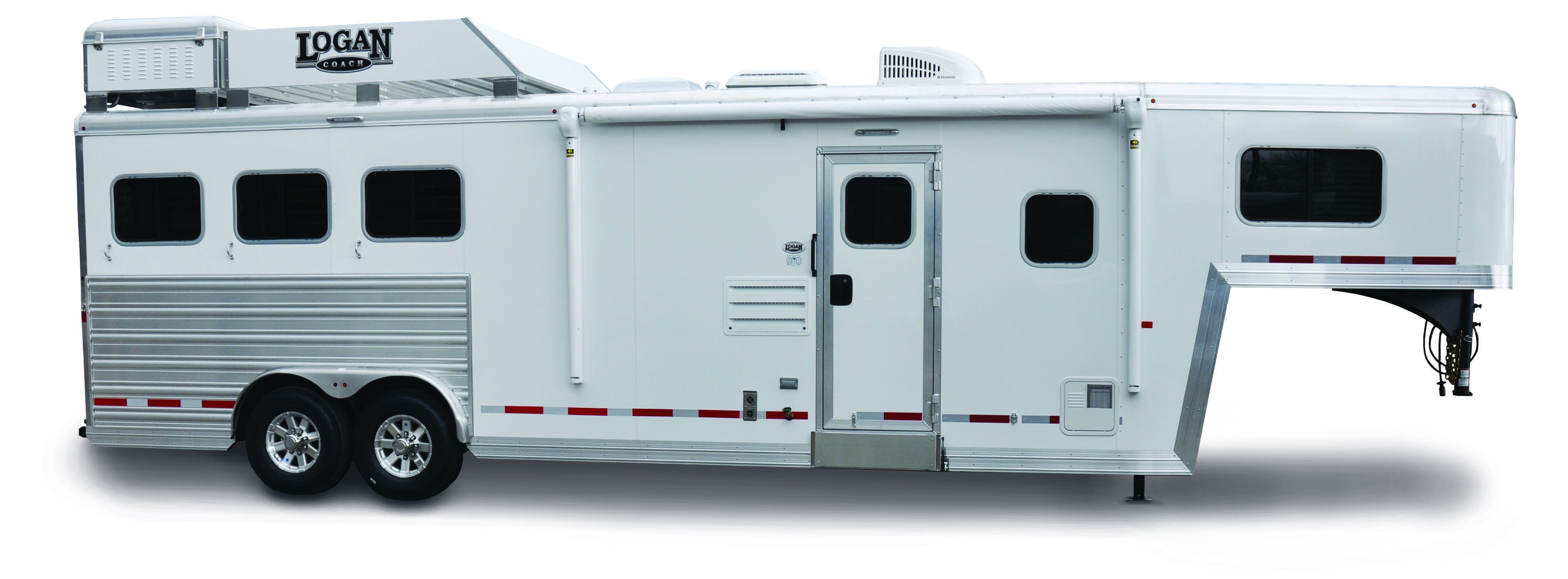 Logan Coach 812 Limited 4H w/ Full-Rear Tack