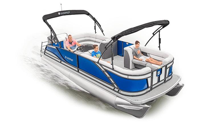Godfrey Pontoon Boats 255 C4