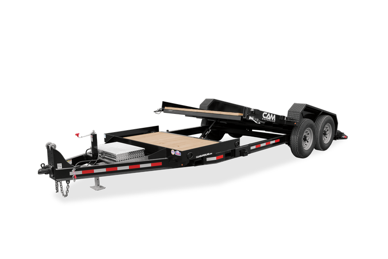 2021 Cam Superline 8 Ton Tilt Trailer Split Deck 8.5 x 17+4
