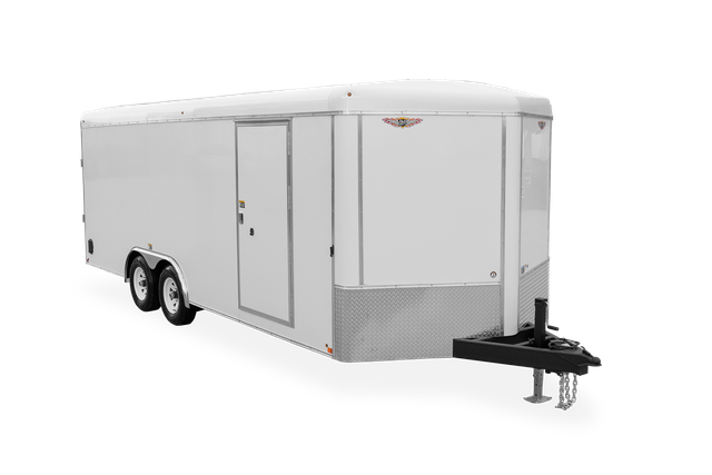 2021 H and H Trailer 8.5x24 Round Top V-Nose 10K Cargo