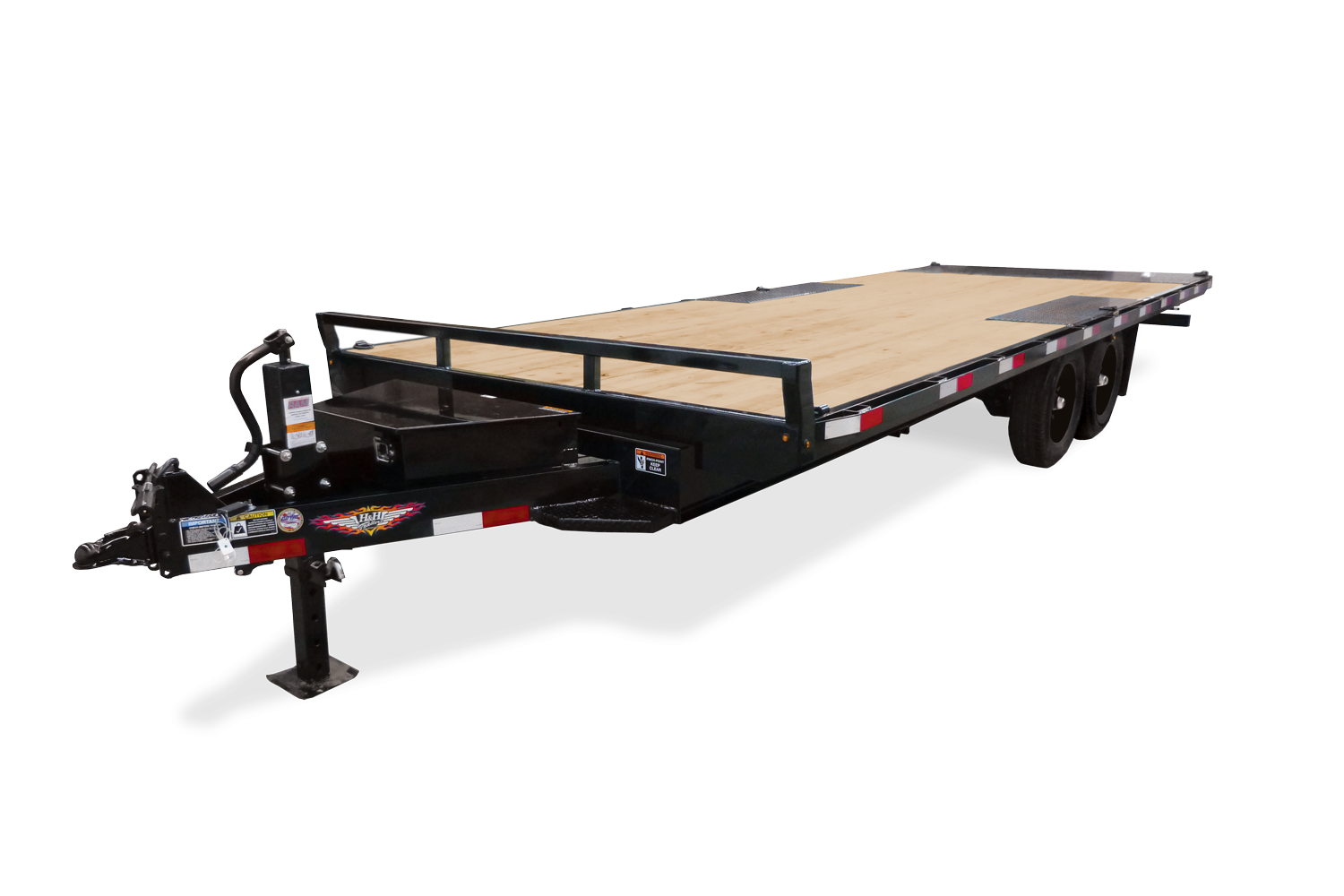 2021 H and H Trailer 102x22 Power Tilt Deckover Trailer  17.6