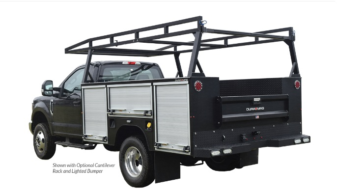 F3 Manufacturing R-Series Service Bodies - Single Rear Wheel - 8.5' - Pickup Delete - Truck Specific Fit