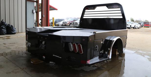 PJ Trailers Western Hauler Steel Truck Bed (GH)
