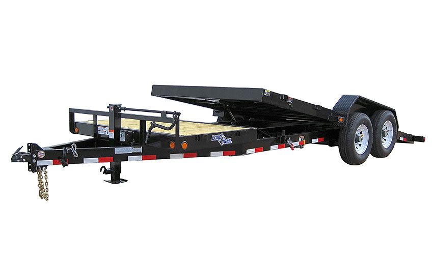 "2016 Load Trail 81.5"" X 18'  Tandem Axle Tilt Deck  w/Gravity"