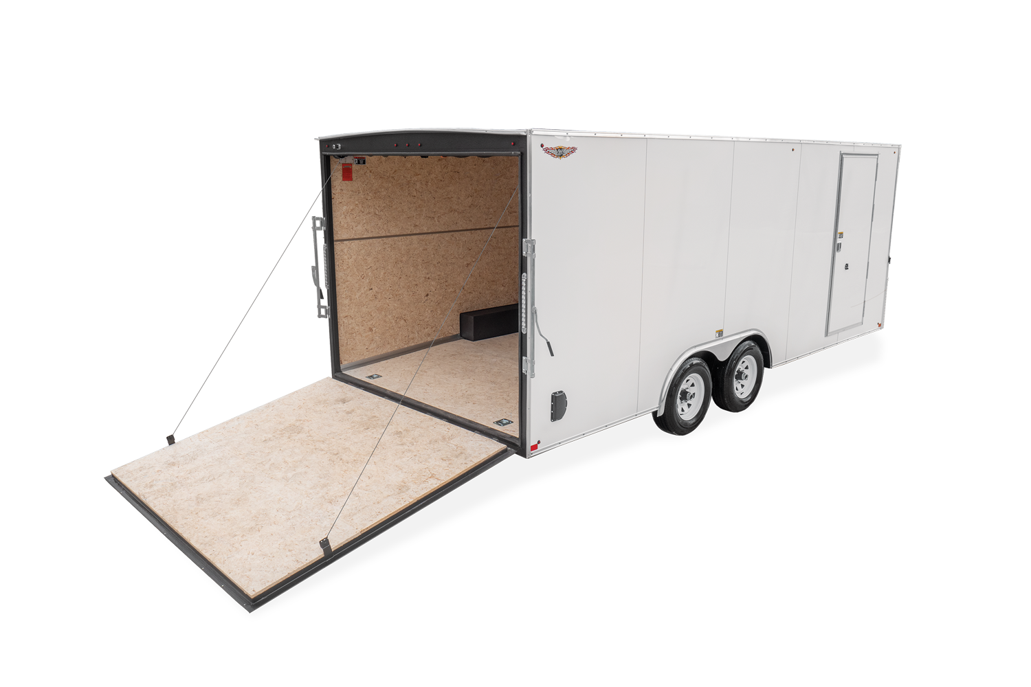 2021 H and H Trailer 8.5x24 HH Series Flat Top V-Nose Enclose