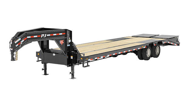 PJ Trailers 14 in. I-Beam Low-Pro with Duals (L3)