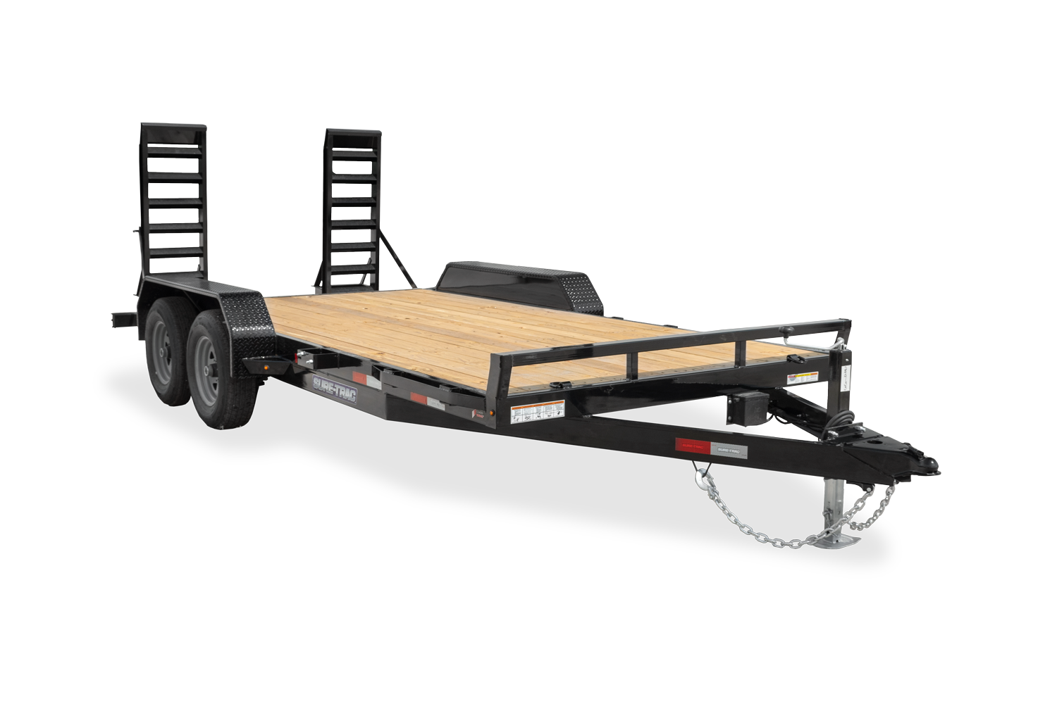 Sure-Trac 7 x 18 (16+2) Equipment Trailer  10K
