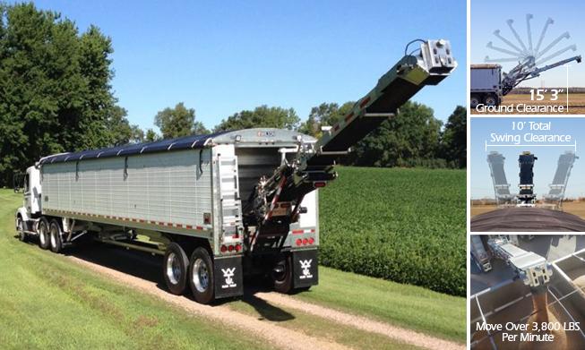 Wilson Trailer Company Pacesetter Grain Trailer