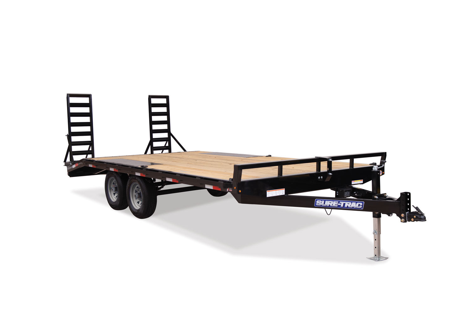 2020 Sure-Trac 8.5 X 15 + 3FT Beavertail Deckover  10k