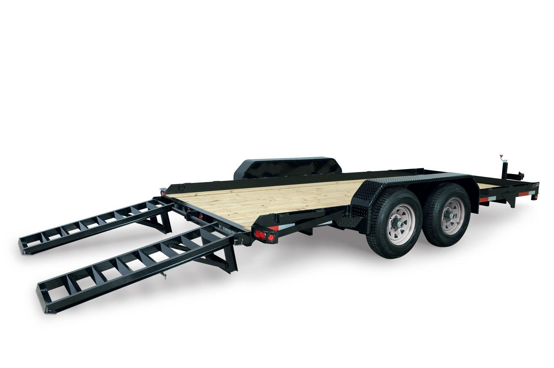 2021 Sure-Trac 7 x 16 Skid Steer Equipment Trailer  10K