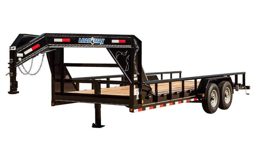 "83"" X 20' Gooseneck Equipment Trailer"