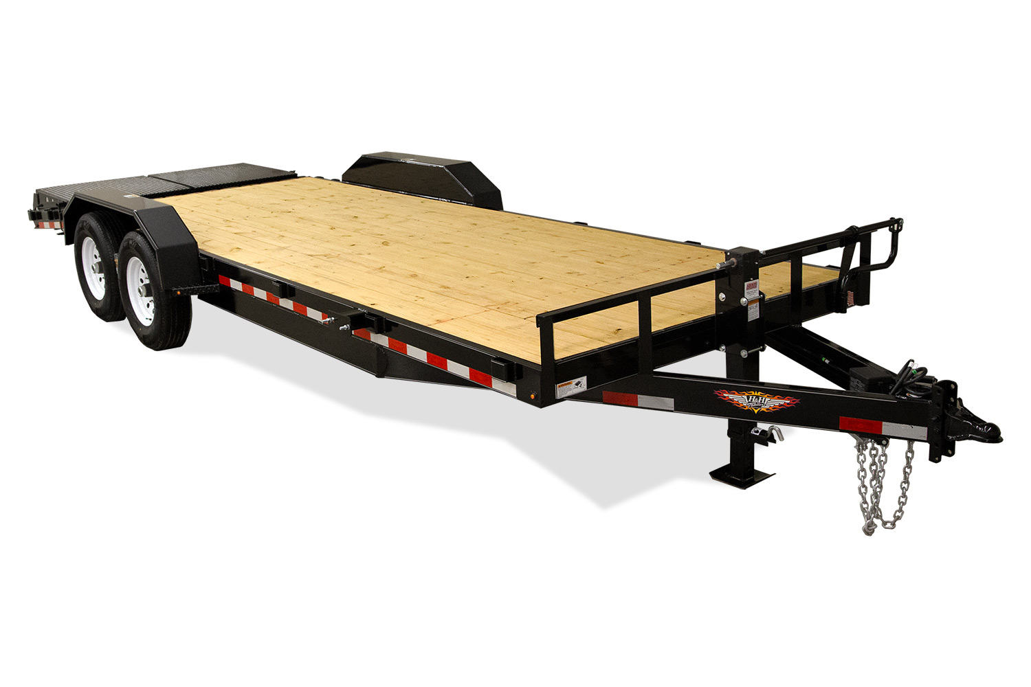 2020 H and H Trailer 82X20+4 IL GOOSENECK SUPER DELUXE 21K