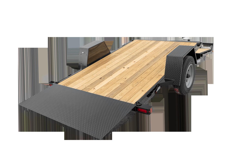 2021 Sure-Trac 78 IN x 12+4 Single Axle Tilt Bed Equipm