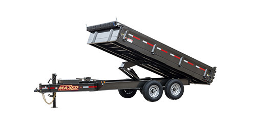 "MAXXD D9X - 96"" Deckover Dump Trailer"