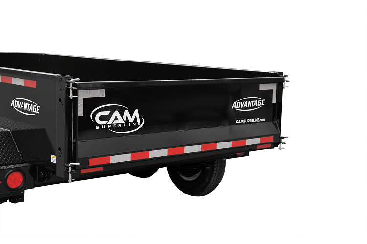 2021 Cam Superline 3.5 Ton 5' x 10' Advantage Low Profile Dump Trailer