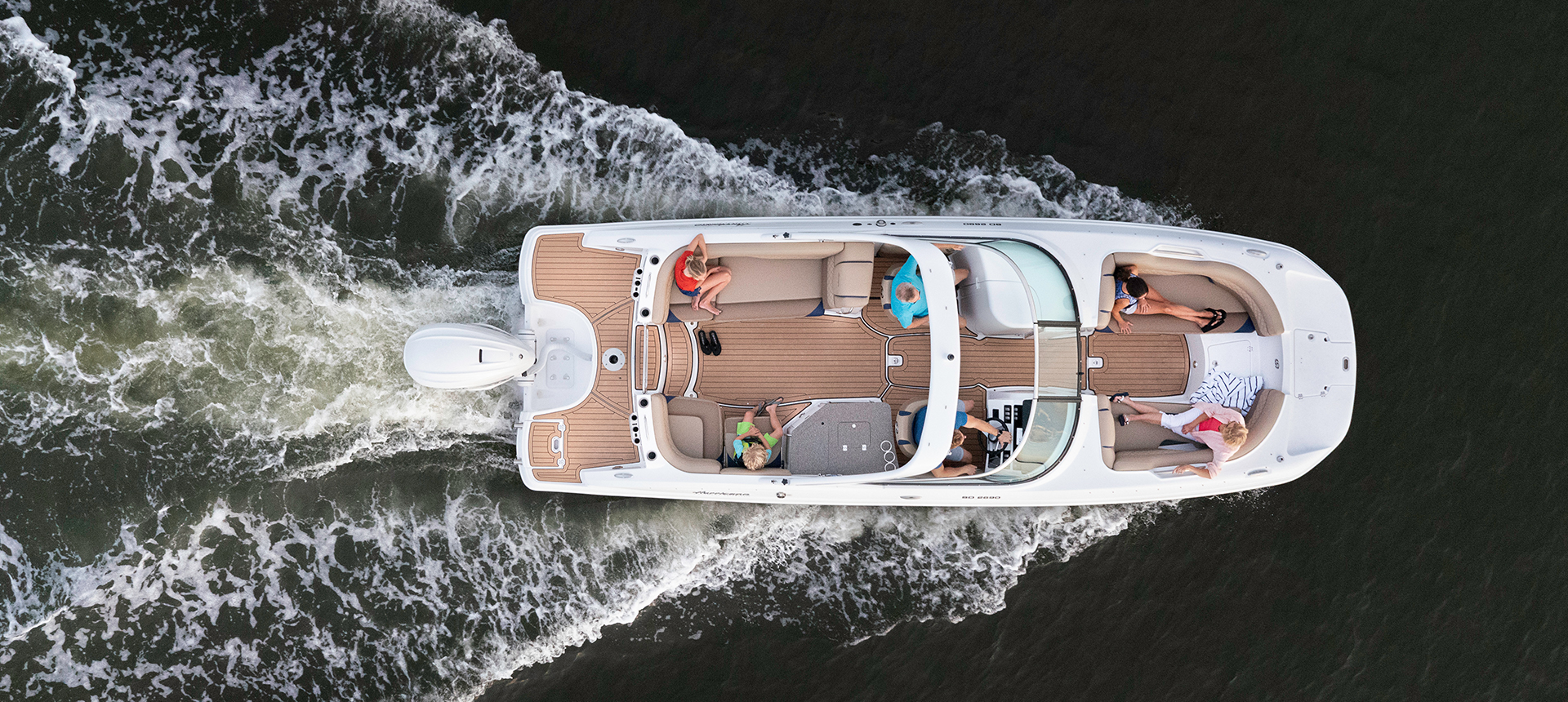 Hurricane Boats SunDeck 2690 OB