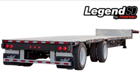Manac Trailer Legend Steel Drop Deck